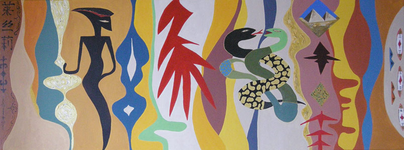 A touch of Ethnology 160x60 cm